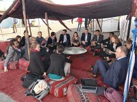 Members of the Climate Analytics team at the Marrakech climate summit COP22 in November 2016.