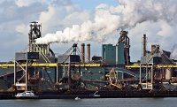 Tata Steel plant in the Netherlands
