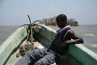 A fishermen from The Gambia