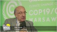Bill Hare on RTCC TV, COP19 Warsaw, Poland