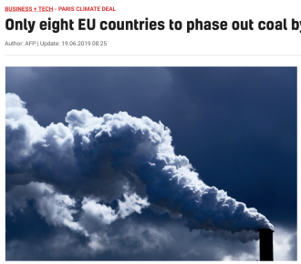 Only eight EU countries to phase out coal by 2030