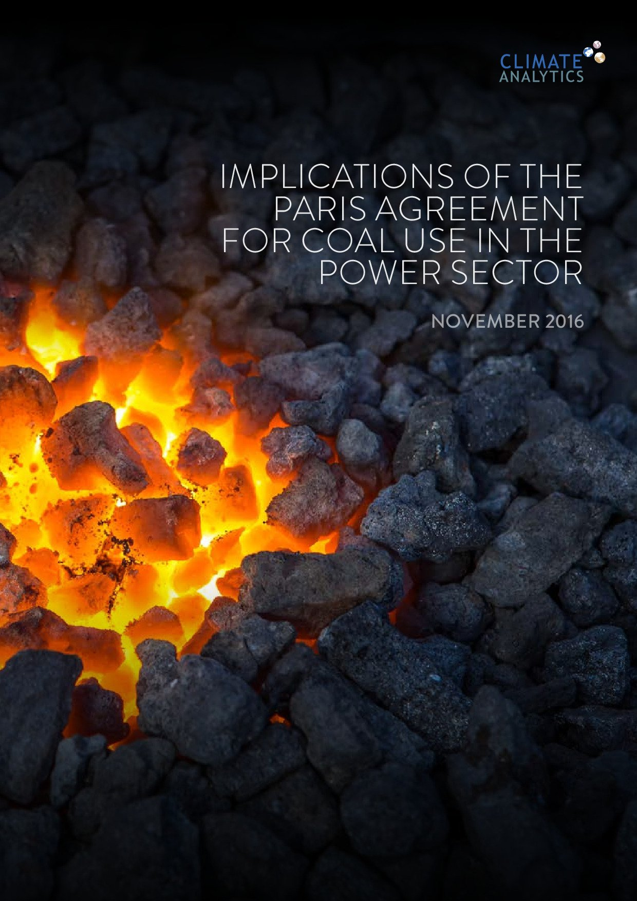 Implications of the paris agreement for coal use in the power sector implications of the paris agreement for coal use in the power sector climate analytics platinumwayz