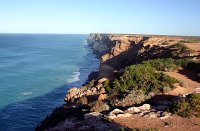 Remote and pristine Great Australian Bight, South Australia.