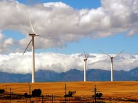 Wind turbines in South Africa
