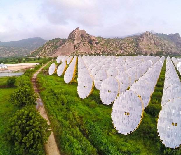 India has embraced renewables on a massive scale. ©  Brahma Kumaris, CC BY-NC