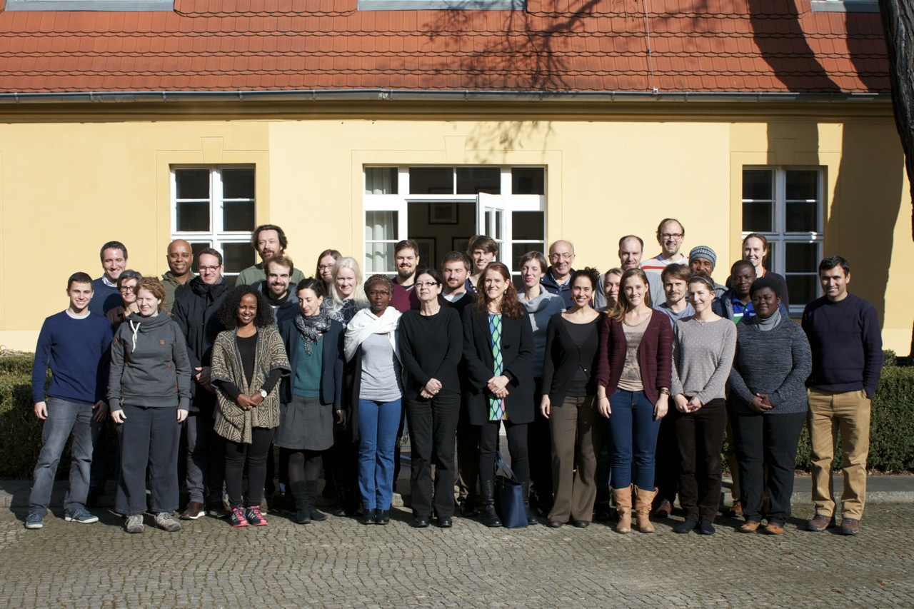 Climate Analytics team at the annual strategy meeting, Luckenwalde, Germany, February 2015.